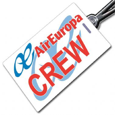 AIR EUROPA logo Crew Tag